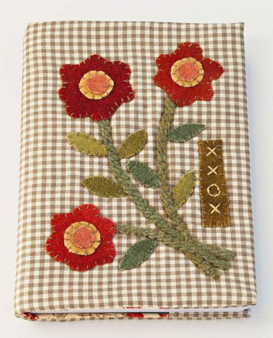 I need to make a needle book and I think this is the applique design I'll use on the front. From All People Quilt.