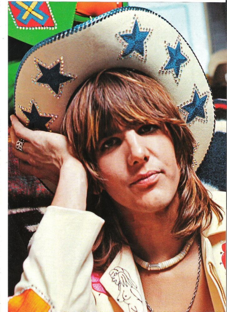 GRAM PARSONS star cowboy hat magazine PHOTO/Poster/clipping 11x8 inches
