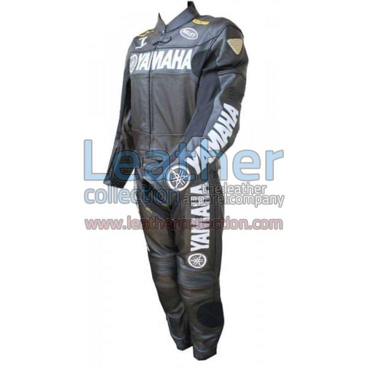 Yamaha Motorbike Leather Suit Black for $595.00 - https://www.leathercollection.com/en-we/yamaha-motorbike-leather-suit-black.html