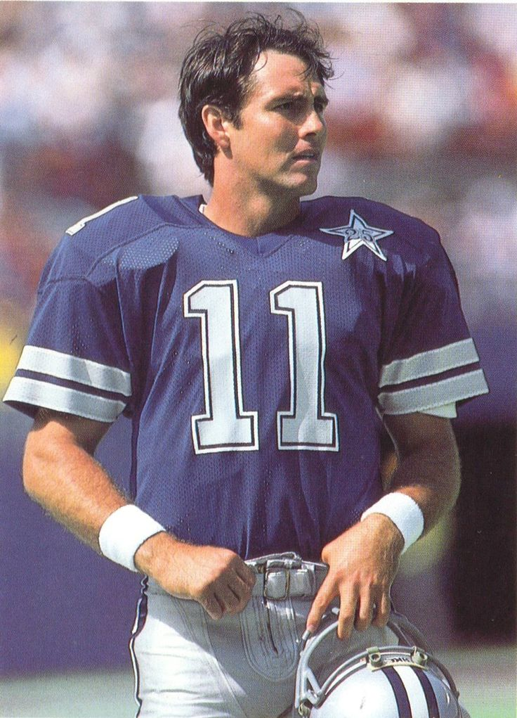 55...Danny White - QB Dallas Cowboys 1976-1988