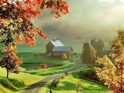 Fall Wallpaper Screensavers This Is Sleepy Hollow Farm In Vermont Hoмɛ S ɛɛт Ħ мɛƨ