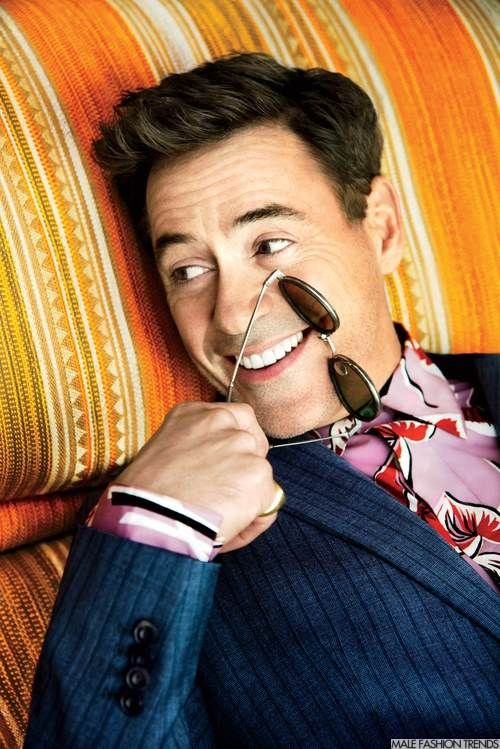 Robert Downey Jr. para GQ Style The Debut Issue por Pari Dukovic