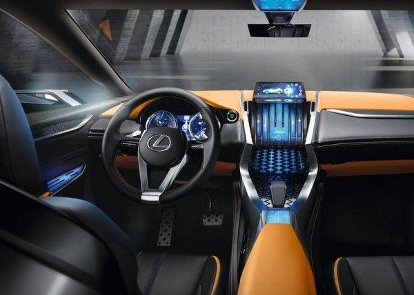 Lexus LF NX Luxury Dashboard 600x428 2013 Lexus LF NX Concept Reviews