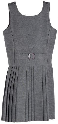 PLEATED BUCKLE PINAFORE