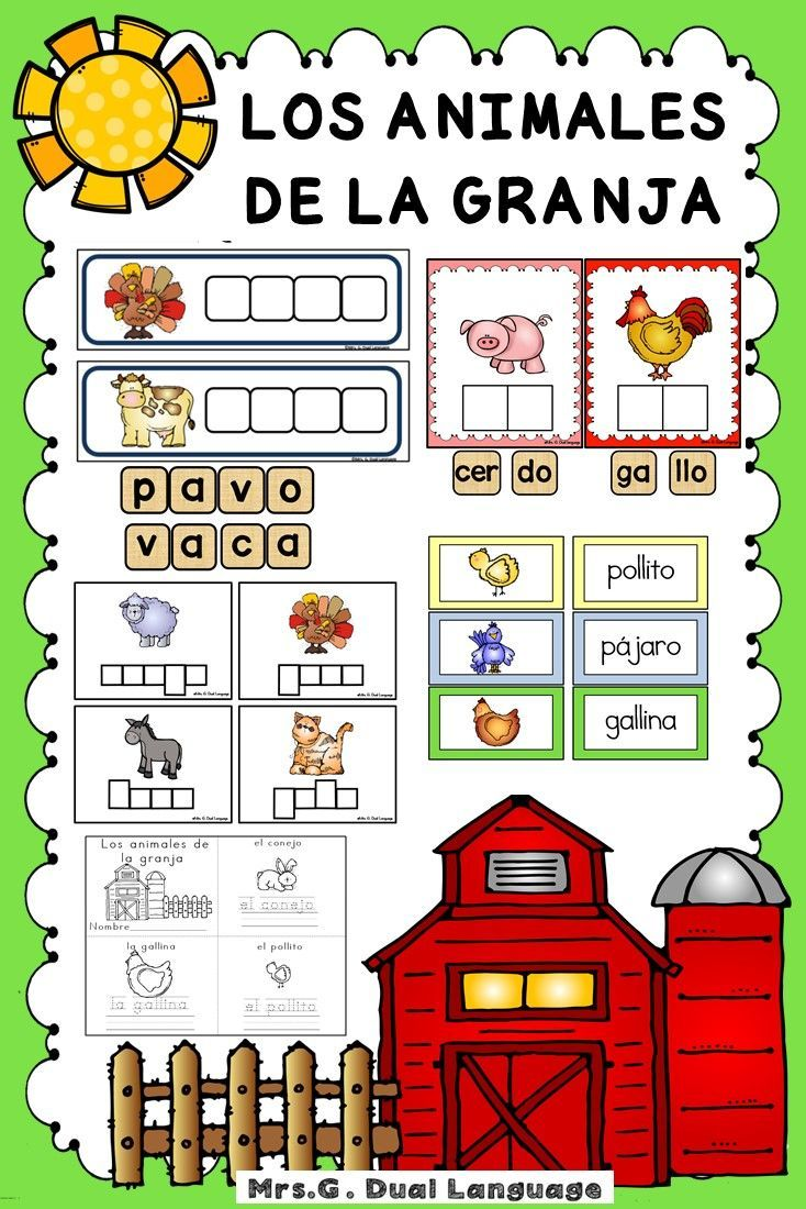 Learn Spanish - Animals - Spanish words and expressions