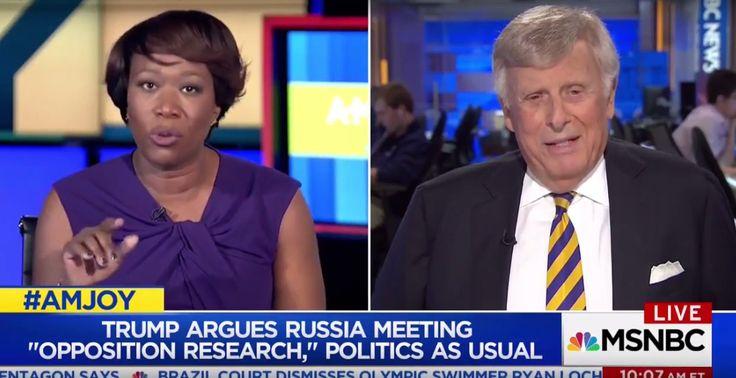 Joy Reid Humiliates Trump Defender, Fact-Checks His Conspiracy Theory Live (Video)