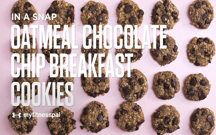 Recipe: Oatmeal Chocolate Chip Breakfast Cookies [Video]