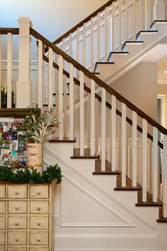 Otter Creek Road - farmhouse - Staircase - Nashville - Pfeffer Torode Architecture