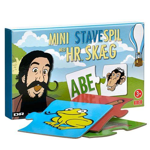 Hr. Skæg - Mini stavespil