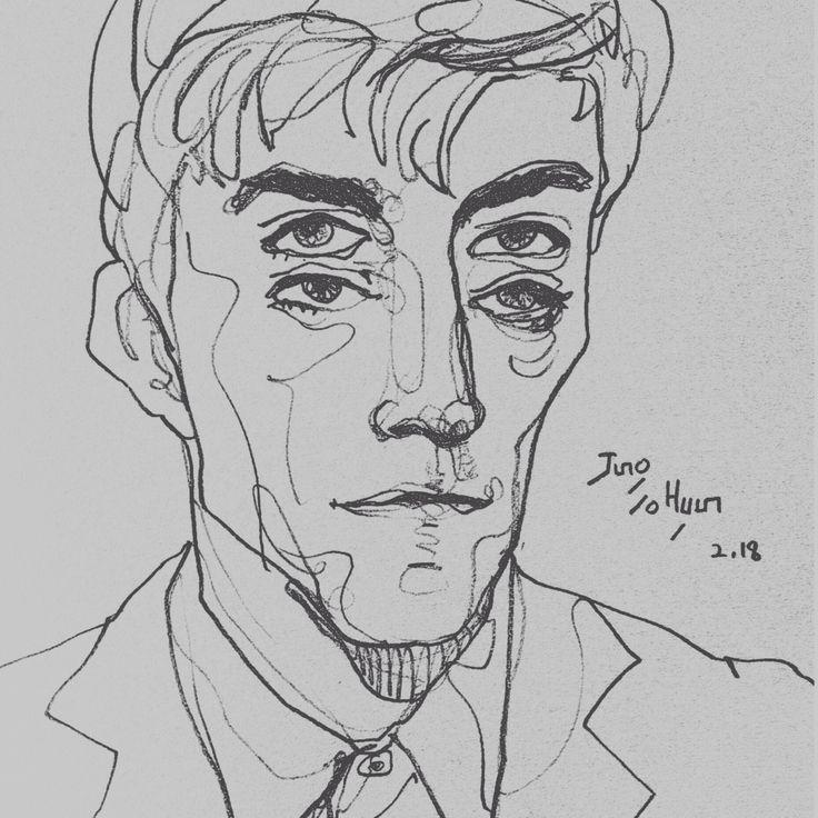 drawing, croquis, draw, sketch ,blackpen ,pencil, penart, contour drawing