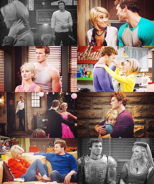 baby daddy, Danny and Riley are OTP