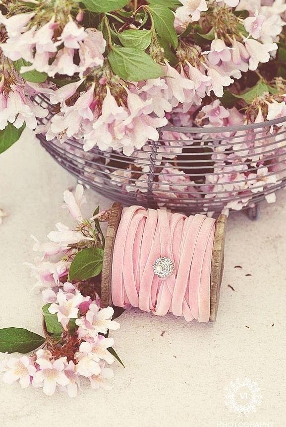 flowers and ribbon  ana-rose.tumblr.com