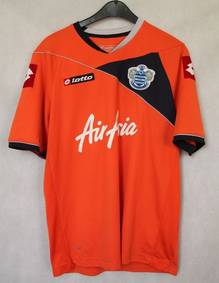 QPR QUEENS PARK RANGERS 2011/2012  LOTTO HOME JERSEY SHIRT sz L LARGE #Lotto