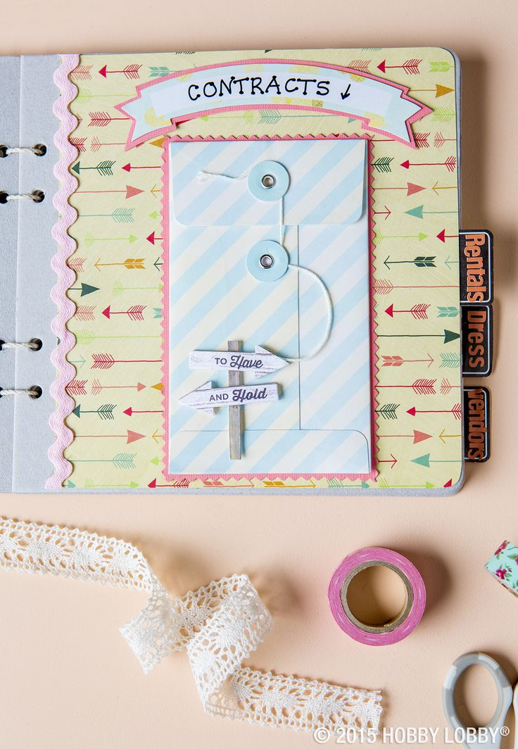 Best 25 wedding organiser book ideas on pinterest wedding create a perfectly personal wedding planner with a chipboard album and embellishments you can customize it to fit your needs and coordinate the colors to solutioingenieria Gallery
