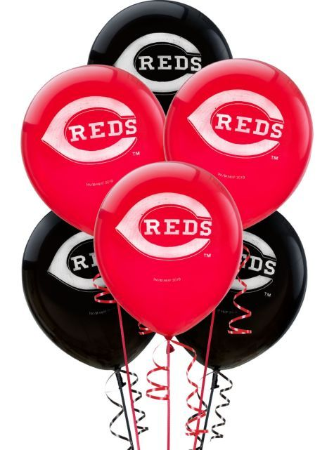17 Best Images About Cincinnati Reds Party Time On Pinterest