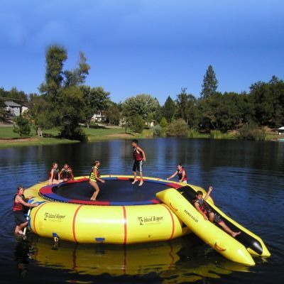 Island Hopper 25 feet Giant Jump Water Trampoline