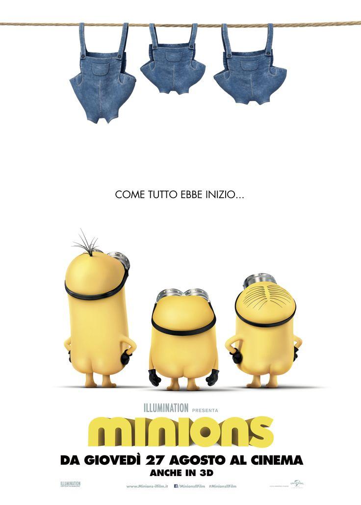 Minions un film di Pierre Coffin, Kyle Balda. Con Sandra Bullock, Jon Hamm, Michael Keaton, Allison Janney, Steve Coogan #Minions #Minion #CattivissimoMe