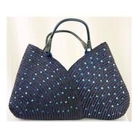 cool Marks and Spencer's beach tote bag M&S Marks & Spencer - Size: L - Blue - Tote bag