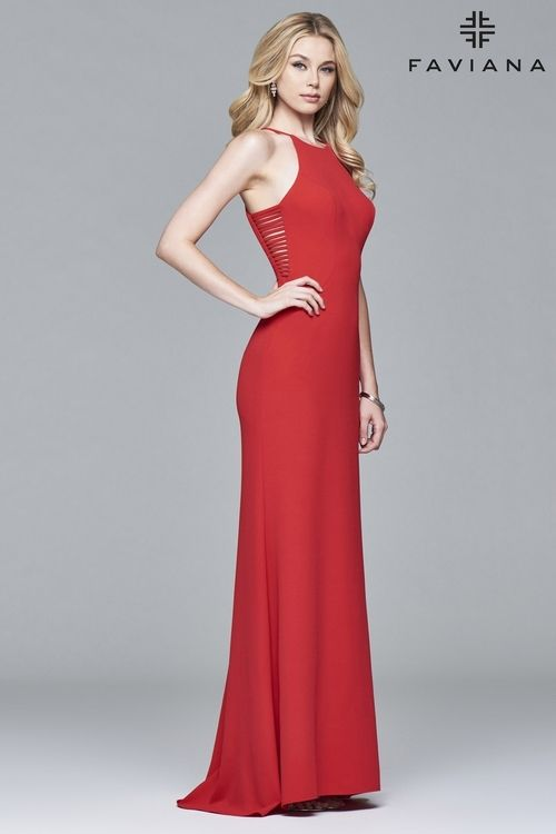Red dress formal qualification