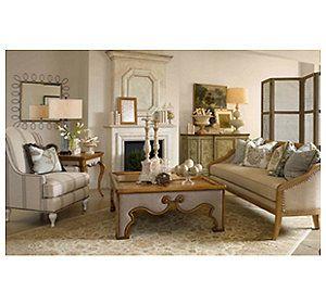 *European Market Living Room featuring Bower Sofa (10366-38)
