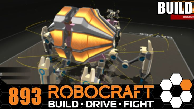 Robocraft 'Crabbers' Sheided Proto Seeker Walker Let's Build