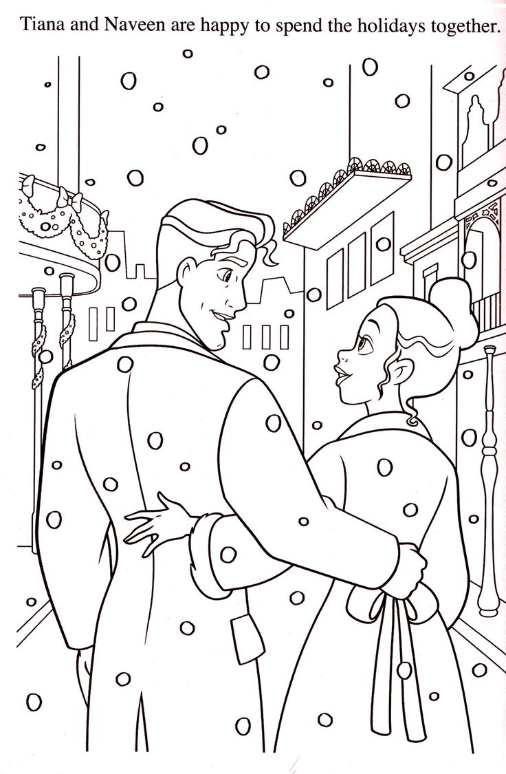 All disney princess together coloring pages - Disney Coloring Pages