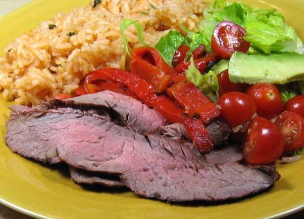Marinated Grilled Beef Fajitas | Recipe