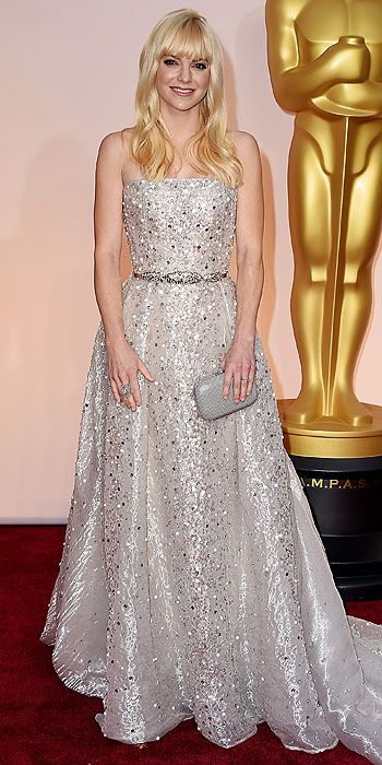 Academy Awards 2015: Arrivals : Anna Faris