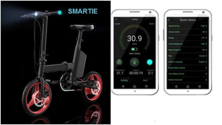 SMARTIE -Smartest, Safest & Lightest eBike...Ever!