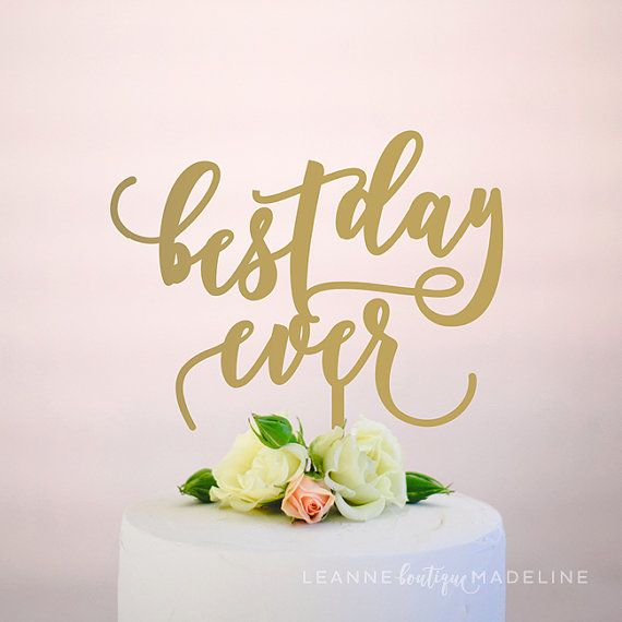 Each of our one-of-a-kind cake toppers are designed with love and locally crafted in Vancouver, BC. Our toppers are the perfect final touch to