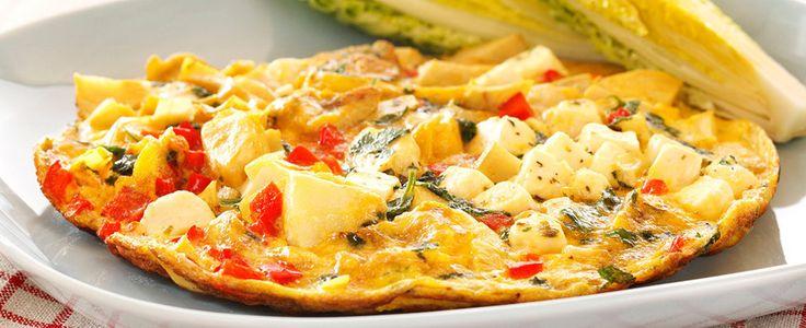 DAGENS RETT: Så lett lager du en gresk vri på omeletten