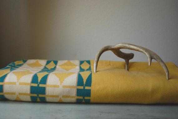 Similar(ish) in palette.Mustard Yellow