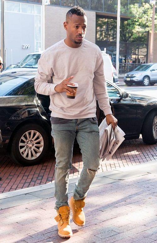 Marlon Wayans | Men's Shirts | Winter fashion boots, Timberland