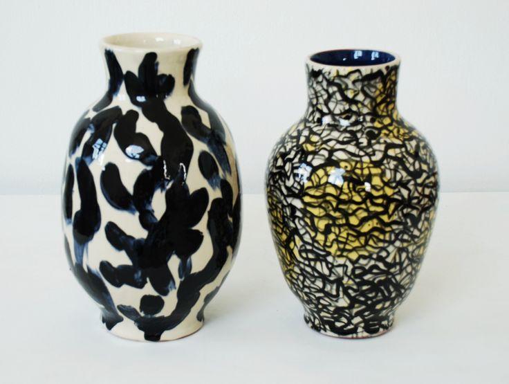 Ceramics by Annette Sjølund, 2016