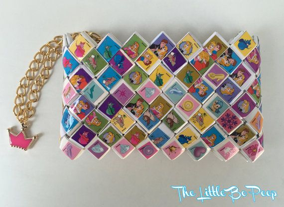 Princess Sleeping Beauty candy wrapper wallet Disney wallet