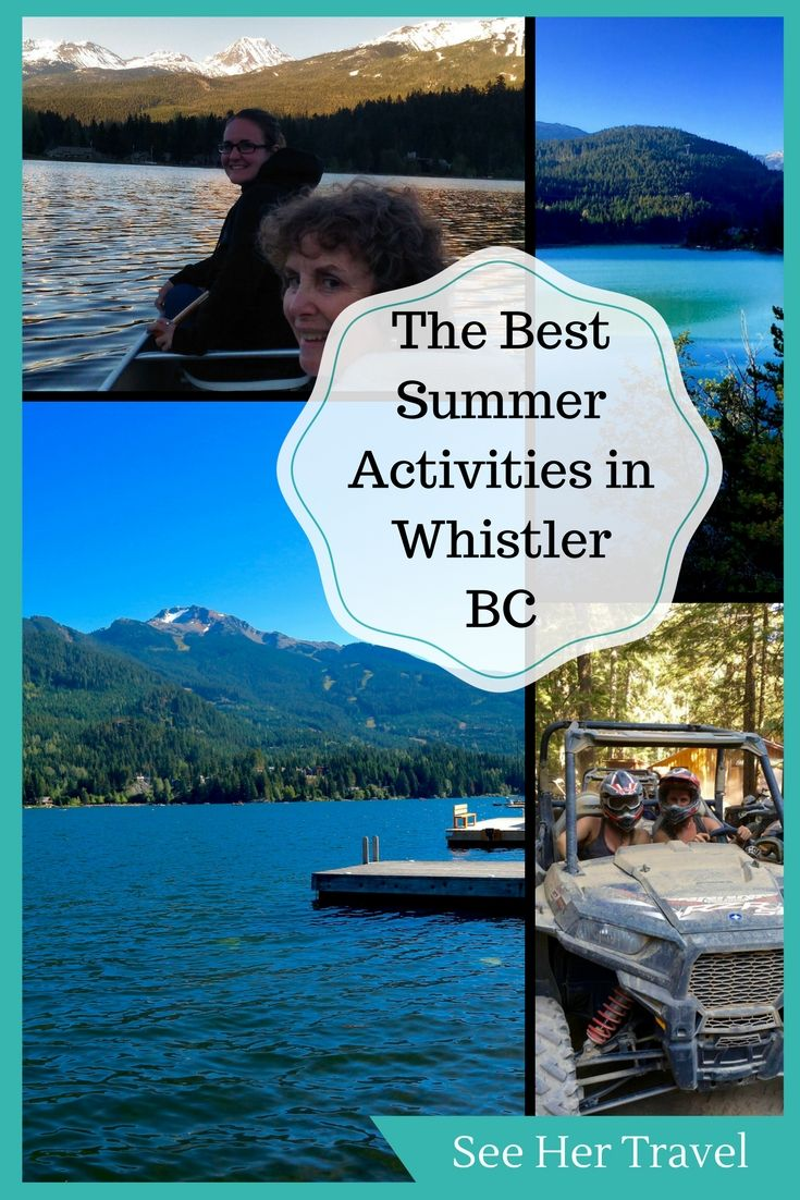 Wondering what to do in Whistler in summer? Despite being a typically winter destination, Whistler BC Canada was some great things to do in the summer. From mountain biking, to rafting, to hiking, and adrenaline filled RZR tours, Whistler BC is a great destination for warm weather lovers!