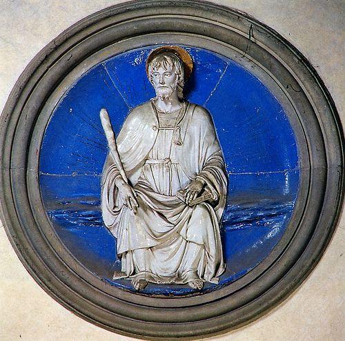 Luca della Robbia - San Jacopo Minore, 1460-1465. Firenze, Santa Croce, Cappella Pazzi