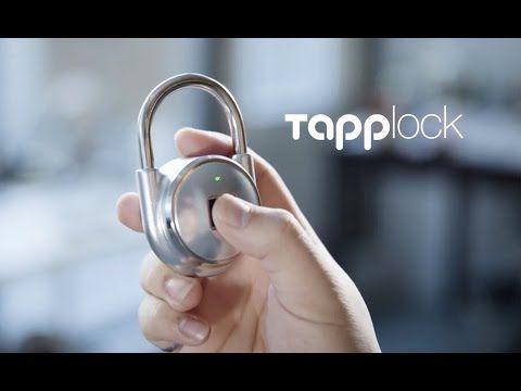Locks for the Modern Age Read Your Fingerprints - http://www.psfk.com/2016/02/fingerprint-lock-tapplock-smart-security-system.html