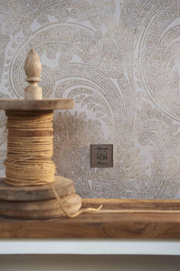Behang / Wallpaper collection Rivièra Maison 2016 - BN Wallcoverings Nu bij ons verkrijgbaar: www.biggelaarverfenwand.nl
