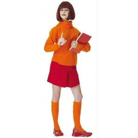 Déguisement Velma™ Scooby-Doo™ femme (Vera)