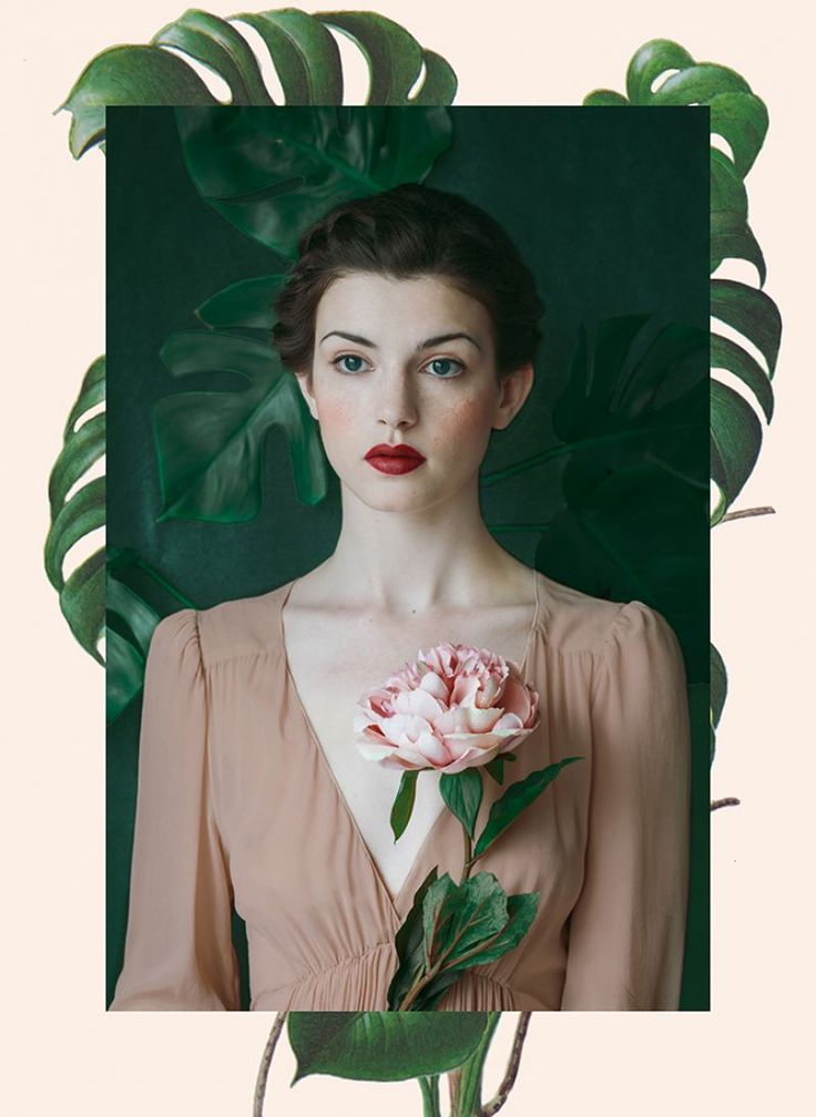 Interpretation of a historic beauty by Monia Merlo for The Green Gallery issue #4