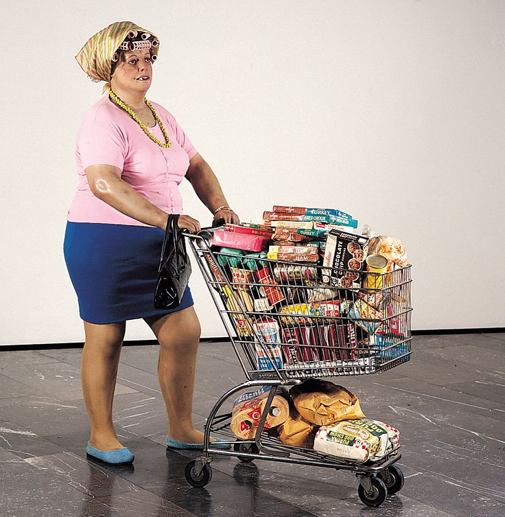 "DUANE HANSON ""Supermarket lady"", 1969: Supermarket Shopper, 1970, Sculpture, Supermarket Lady, Des Art, Supermarketladi, Duane Hanson, Histoir Of, Hanson Supermarket"