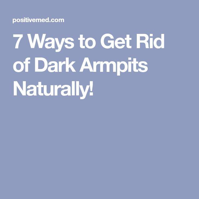 7 Ways to Get Rid of Dark Armpits Naturally!