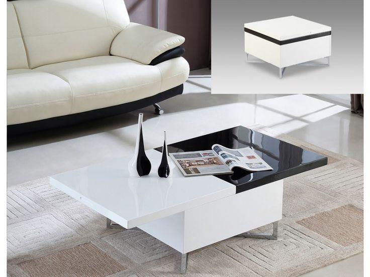 Uitschuifbare salontafel met koffer PAPILIO / €199,-
