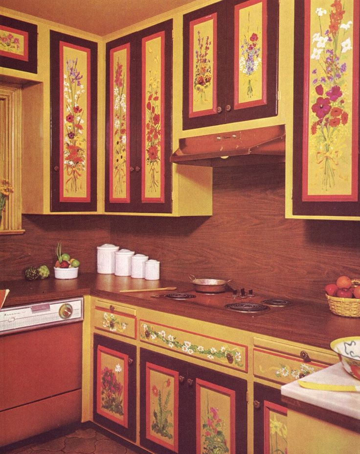 17 best images about kitschy tacky interiors on pinterest for Kitchen design 70s