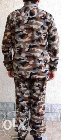 Армейский флисовый костюм