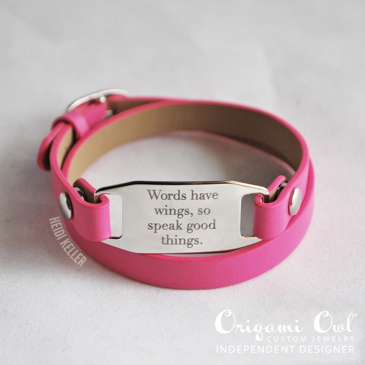 custom bracelets inscribed bracelet