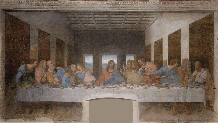 Última Cena,1498. Santa Maria della Grazie.Milan.