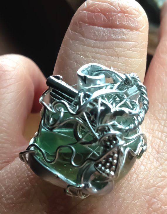 The Tenacity of Dean Winchester SPN Supernatural Ring by Eldwenne, $25.00