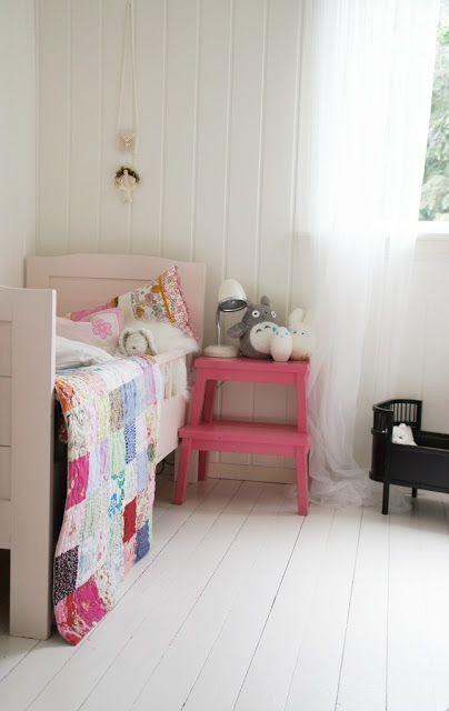 IKEA BEKVÄM als Nachttisch im Kinderzimmer